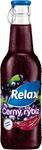Relax černý rybíz 0,25 l víčko