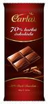 Hořká čokoláda 70% 100 g (obdelník)