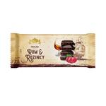 Čokoláda rozinky+rum 200 g