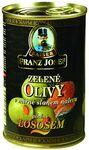FJ zel.olivy s lososem 300 g plech