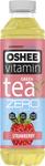 Oshee 555ml Tea Zero Jahoda-máta