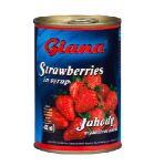 Jahodový kompot Giana 400 ml