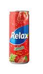 Relax Jahoda 330 ml plech limo