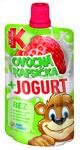 Kubik kaps.jogurt Jahoda 80g