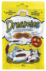 Dreamies Sýr 60 g  |