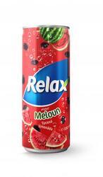 Relax Meloun 330 ml plech limo  |