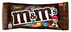 M&Ms čokoládové 45g  |