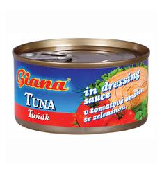 Giana tuňák v tomat.omáč.se zel.185  |