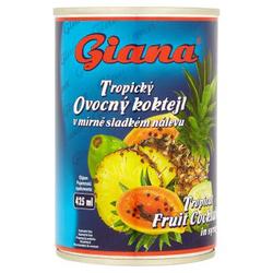 Ovocný koktejl tropic.425 ml Giana  |
