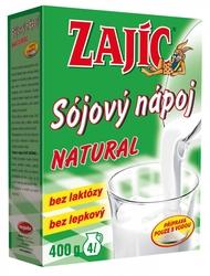 Natural sójový nápoj Zajíc 400 ml  |