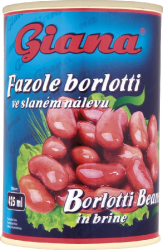 Giana Fazole borlotti ve sl.400 g  |