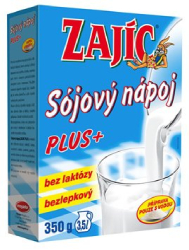 Zajíc Plus sójový nápoj 350 ml  |