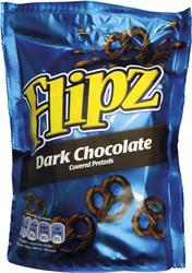 Preclík hořká čokoláda Flipz 100g  |