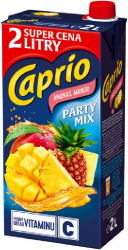Caprio Party mix mango-ananas 2 l   