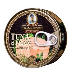 FJ Tuňák steak v rostl. oleji 170g  |