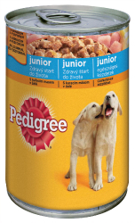 Pedigree kon. Junior drůbež 400g  |