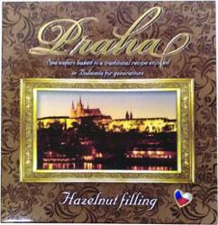 Oplatky oříšek Praha 125 g   