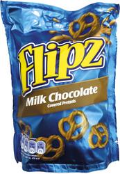 Preclík mléčná čokoláda Flipz 100g  |