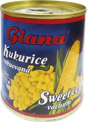 Giana Kukuřice vakuovaná 212 ml  |