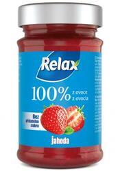 Relax Jahoda 100% ovoc.pom. 220 g  |