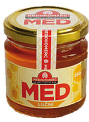 MK Med luční 250 g  |