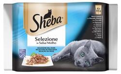 Sheba ryba Sel.in Sau.4x85 g  |