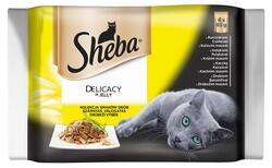 Sheba Delicaty in J.Drůbeží 4x85 g  |
