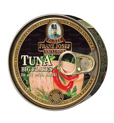 FJ Tuňák kous.v oleji s chilli 170g  |