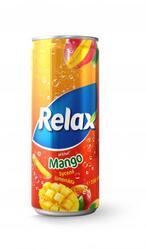 Relax Mango 330 ml plech limo  |