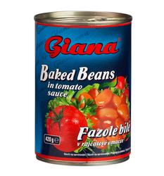 Fazole v tomat. omáč. 410g Giana  |
