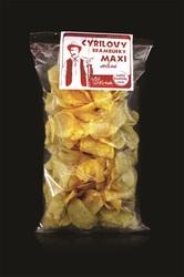 Brambůrky MAXI solené 180 g   