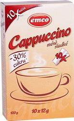 Cappuccino neslazené 10x12g  |