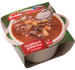 Gulášová polévka 330 g plast  |