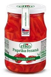 Efko Paprika řezaná 370 ml  |