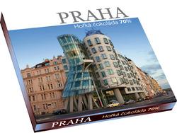 Praha Tančící dům 70% 100 g  |