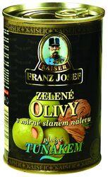 FJ zel.olivy s tuňákem 300 g plech  |